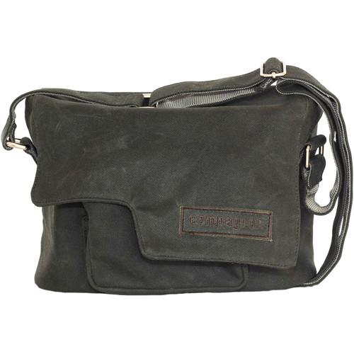 compagnon Little Messenger Camera & Laptop Bag (Dark Green)