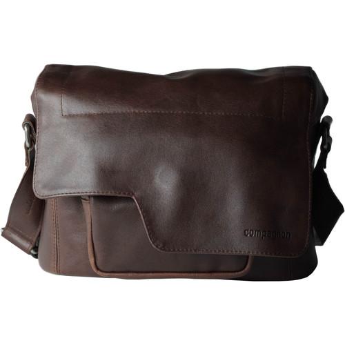"compagnon ""The Little Messenger"" Camera Bag (Dark Brown, Leather)"