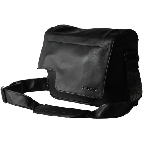 "compagnon ""The Little Messenger"" Generation 2 Camera Bag (Black, Leather)"