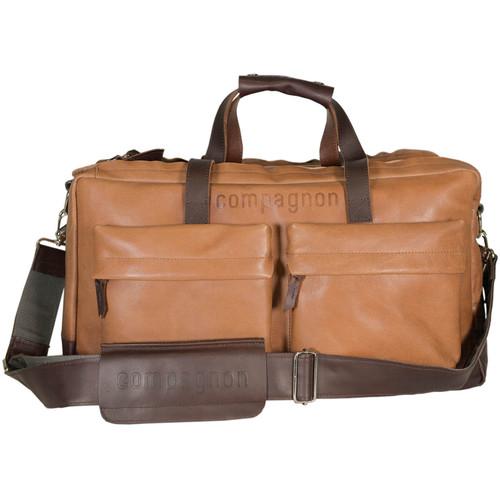 compagnon Weekender Camera & Laptop Bag (Light/Dark Brown)