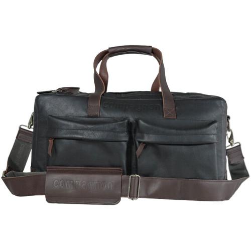 compagnon Weekender Camera & Laptop Bag (Black/Dark Brown)