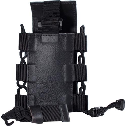 """compagnon """"The Tripod Quiver"""" Leather Accessory Holder (Black)"""