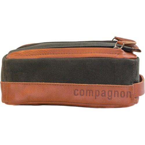 "compagnon ""the toolbag"" Accessory Case (Dark Green/Light Brown)"