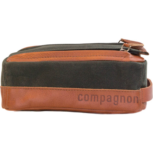 "compagnon ""The Toolbag"" Accessory Case (Dark Green / Light Brown)"