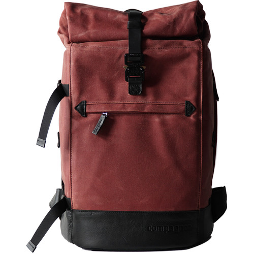 compagnon The Backpack for Camera & Laptop (Red / Black)