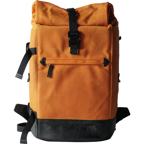 compagnon The Backpack for Camera & Laptop (Orange / Black)