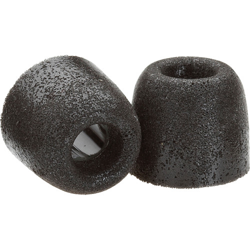 Comply T-200 Replacement Foam Eartips (3-Pack, Medium, Black)