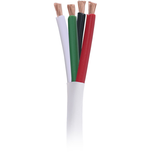 Comprehensive CAC-16-4/P-500 4-Conductor 16 AWG Stranded Plenum Speaker Cable (500')