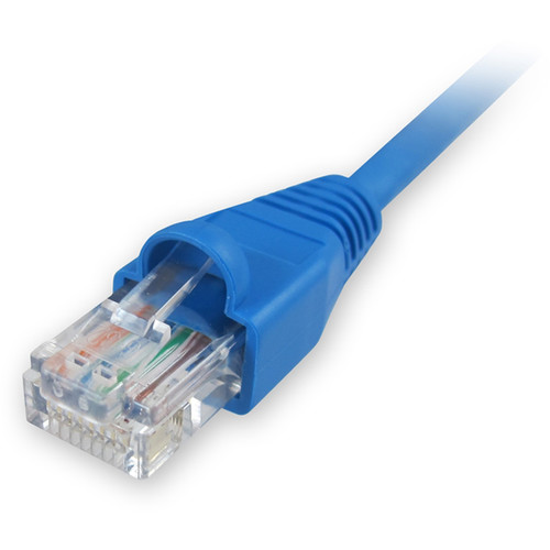 Comprehensive CAT5e 350 MHz Snagless Patch Cable (25', Blue)