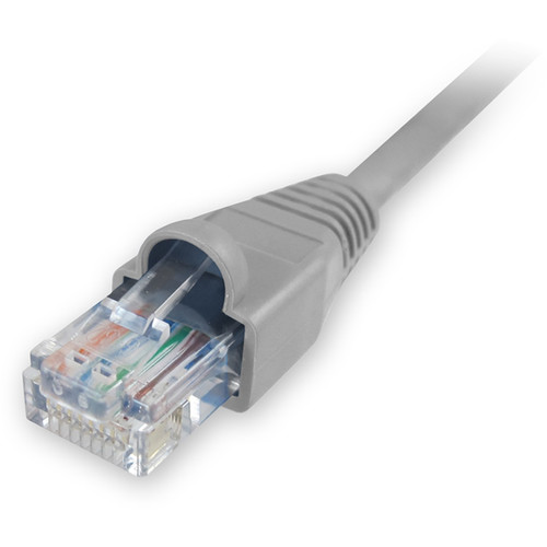 Comprehensive CAT5e 350 MHz Snagless Patch Cable (25', Gray)