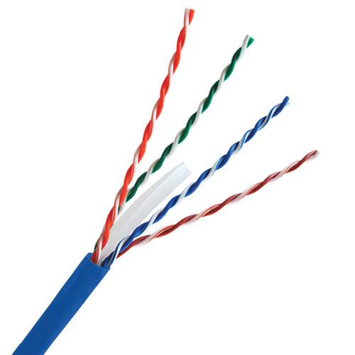 Comprehensive CAT6AB-1000 CAT6 750 MHz Four Pair Unshielded Cable 1000' (Blue)