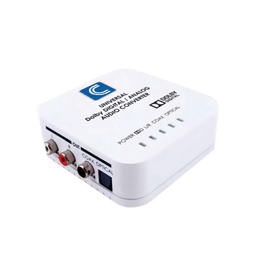 Comprehensive CCN-ADDA Universal Digital/Analog Audio Converter with Dolby Digital Decoder