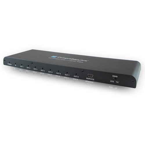 Comprehensive HDMI 1 x 8 Splitter UHD 4K with HDCP 2.2