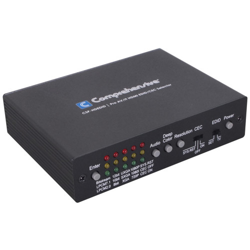 Comprehensive Pro AV/IT HDMI EDID/CEC Selector
