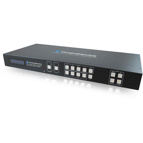 Comprehensive Pro AV/IT 4K 4x4 HDMI Matrix Switcher