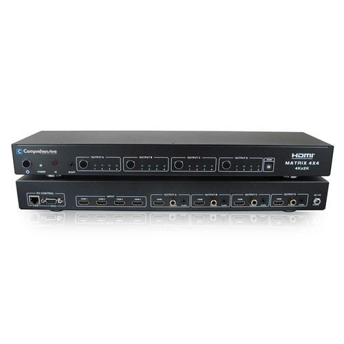 Comprehensive CSW-HD442-4K60 4x4 HDMI Matrix Switcher