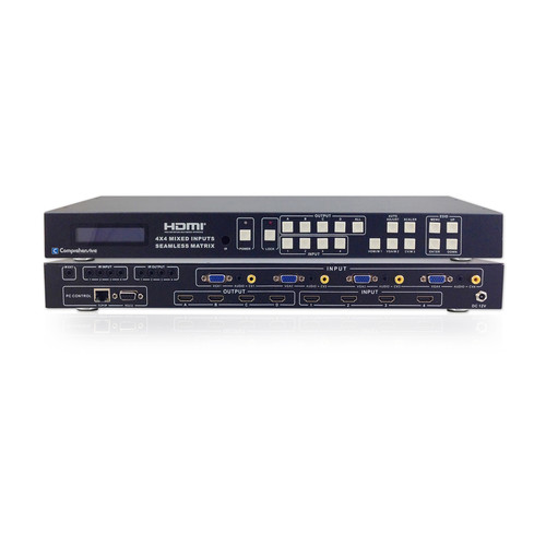 Comprehensive 4x4 Multi-Input Seamless Matrix Switch with Video Wall Function
