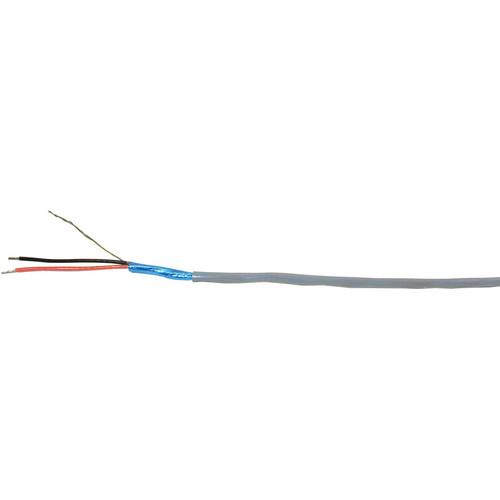 Comprehensive Premium 2 Conductor Shielded Flexible Plenum Bulk Audio Cable (Black / Pull Box / 500')