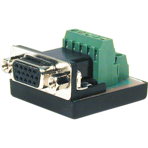 Comprehensive HD15 Pin Female to Terminal Block Connector