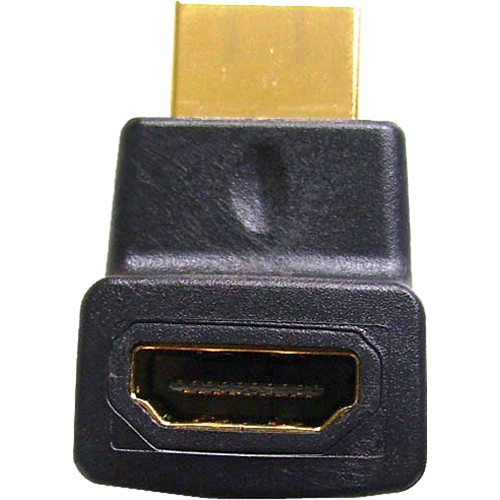 Comprehensive HDMI Female to Right Angle Male Upward Position Adapter