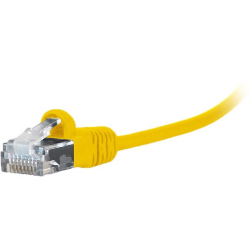 Comprehensive MicroFlex Pro AV/IT Cat 6 Snagless Patch Cable (1', Yellow)