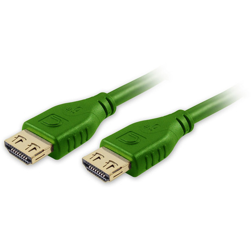 Comprehensive Pro AV/IT Series MicroFlex Low-Profile High-Speed HDMI Cable with Ethernet (Green, 1.5')