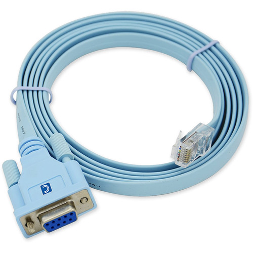 Comprehensive Cisco Console Management RJ45 Male to DB9 Female Cable (6')
