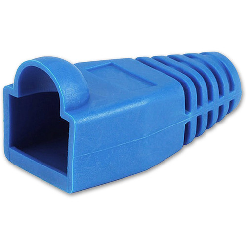 Comprehensive 8mm RJ-45 Boot (Blue)