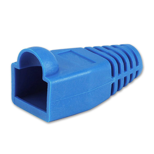 Comprehensive RJ45 Colored Boot (Blue, 50-Pack)