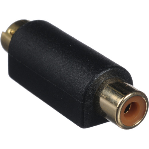 Comprehensive S-Video 4-Pin Male to RCA Female Bi-Directional Adapter