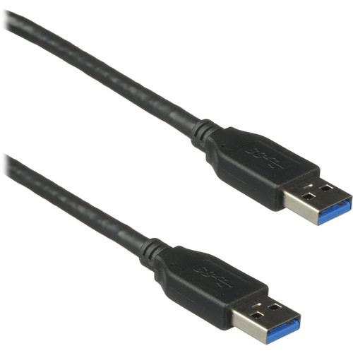Comprehensive USB 3.0 Type-A Male to USB 3.0 Type-A Male Cable (6')