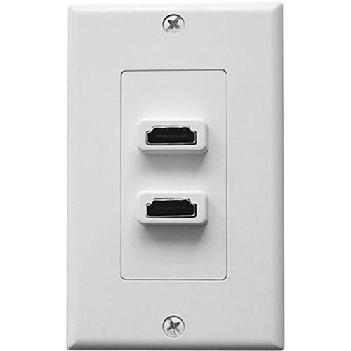 Comprehensive WP-5895-P-W Single Gang Decora Wall Plate (White)