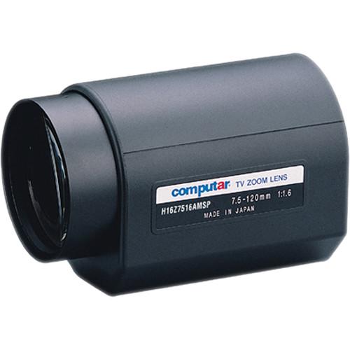 "computar H16Z7516AMSP 1/2"" 7.5 to 120mm Video Auto-Iris Lens (C-Mount)"