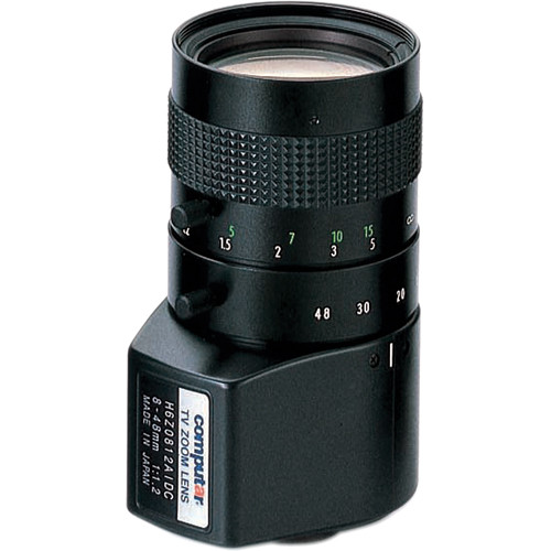 computar C-Mount 8 to 48mm DC Auto Iris Lens