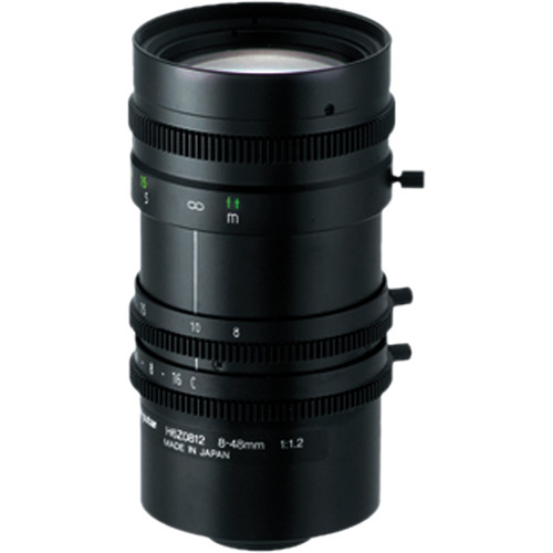 computar C-Mount 8 to 48mm Manual Iris Lens