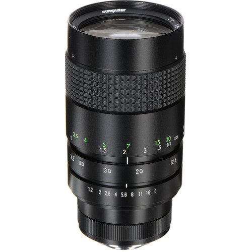 computar C-Mount 12.5-75mm Varifocal Lens
