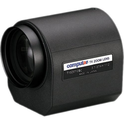 """computar T10Z5712DC 1/3"""" f1.2 10x Motorized Zoom, DC Auto Iris Lens (5.7-57mm)"""