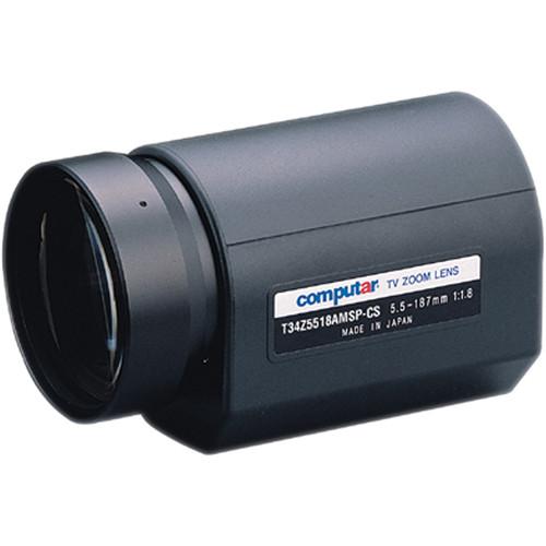 computar T34Z5518AMSP Motorized Zoom Auto Iris Lens
