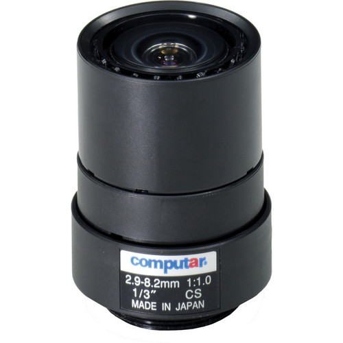 "computar T3Z2910CS 1/3"" Manual Iris Varifocal Lens (2.9-8.2mm)"