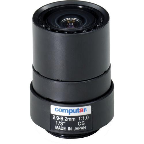 """computar T3Z2910CS 1/3"""" Manual Iris Varifocal Lens (2.9-8.2mm)"""