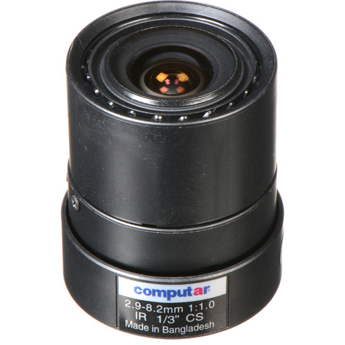 computar CS-Mount 2.9-8.2mm Varifocal Lens
