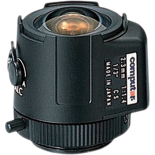 computar TG2314AFCS 2.3mm Lens (F1.4, CS-Mount) for CCTV