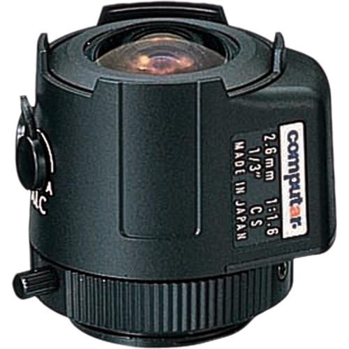 "computar TG2616AFCS 1/3"" Fixed Focus Auto-Iris Lens (2.6mm)"