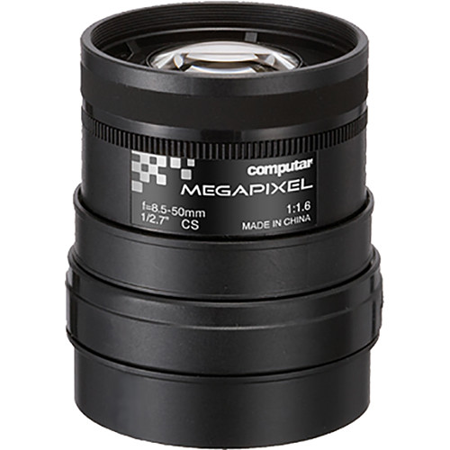 computar CS-Mount 3MP 8.5-50mm f/1.6 Manual Iris Lens