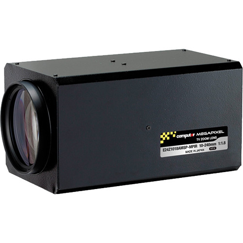 "computar E24Z1018-MPIR Series 1/1.8"" 3MP C-Mount 10 to 240mm 24x Video Auto-Iris Zoom IR Lens with Spot Filter & Preset"