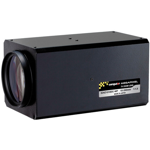 computar C-Mount 10-240mm Varifocal Lens with Preset
