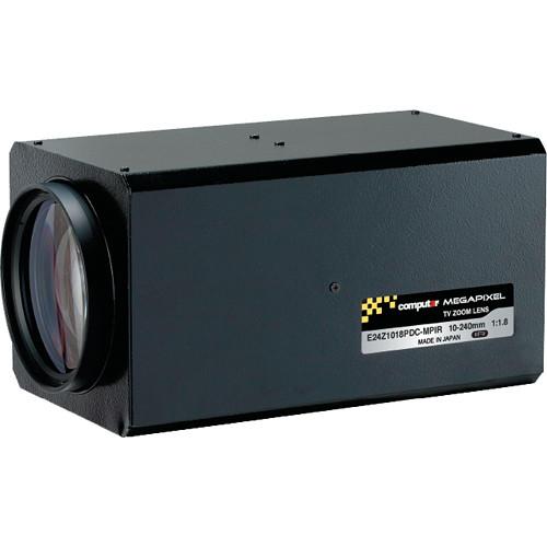 "computar E24Z1018-MPIR Series 1/1.8"" 3MP C-Mount 10 to 240mm 24x DC Auto-Iris Zoom IR Lens with Spot Filter & Preset"
