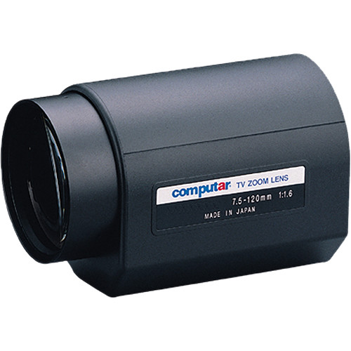 computar C-Mount 7.5 to 120mm 16x DC Auto-Iris Motorized Zoom IR Lens