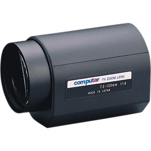 computar C-Mount 7.5 to 120mm 16x DC Auto-Iris Motorized Zoom IR Lens with Preset