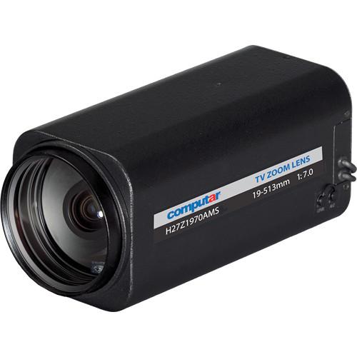 "computar H27Z1970AMS 1/2"" Video Auto-Iris Lens (19 to 513mm)"
